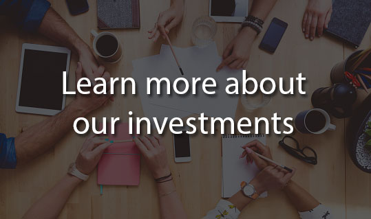 Learn more about our investments